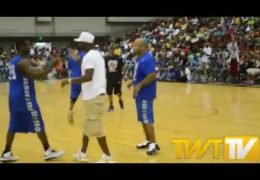 REGGIE WAYNE 2014 INDIANA BLACK EXPO CELEBRITY BASKETBALL GAME