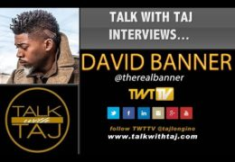 """DAVID BANNER """"RAP MUSIC IS A DIRECT MIRROR OF THE WORLD"""""""