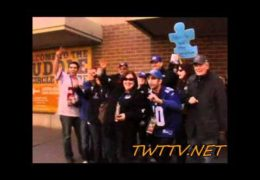 Fans show love to the city of Indianapolis Super Bowl XLVI