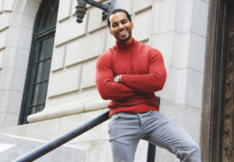 Actor Justin Mabrie speaks on dating and relationships in 2018, new book, new show 5th ward with Mya and more