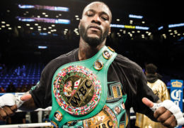 Interview with the heavyweight champ Deontay Wilder